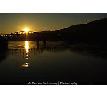Pittsburgh Morning Sunrise Photographic Print