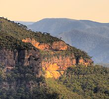 Drop Off - Blue Mountains HDR Series - Sydney Australia by Philip Johnson