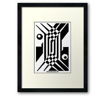 Like a cube Framed Print