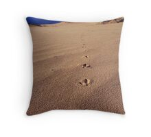 Emu Tracks Throw Pillow