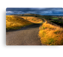 The Ridge Canvas Print