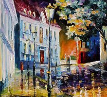 Old Street — Buy Now Link - www.etsy.com/listing/156916845 by Leonid  Afremov