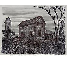 Abandoned Farmhouse - www.jbjon.com Photographic Print