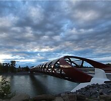 Peace Bridge  by Megan Belford