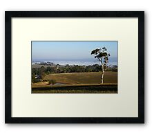 The Adelaide Hills Framed Print