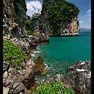 Limestone & Blue by Robert Mullner