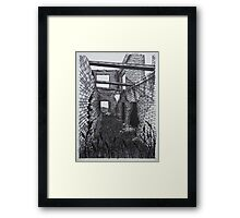Barber Paper Mill Ruins- 1823 - www.jbjon.com Framed Print