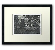 Fallbrook House - www.jbjon.com Framed Print