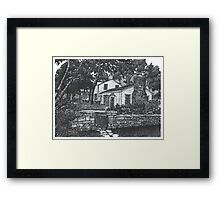 Scottsdale farm House - www.jbjon.com Framed Print