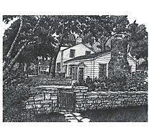 Scottsdale farm House - www.jbjon.com Photographic Print
