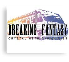 Crystal Meth Chronicles Canvas Print