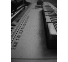2 Way 4 Speaker Photographic Print