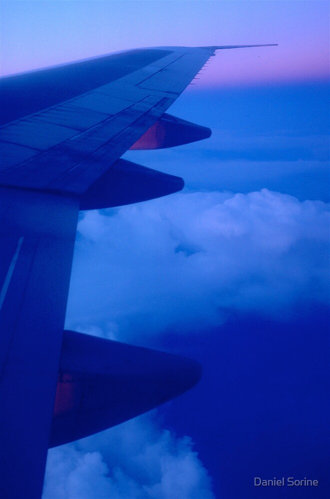 Over France by Daniel Sorine