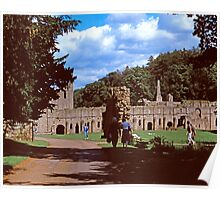Fountains Abbey1 Poster