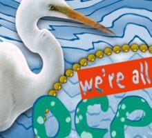 One Ocean Sticker