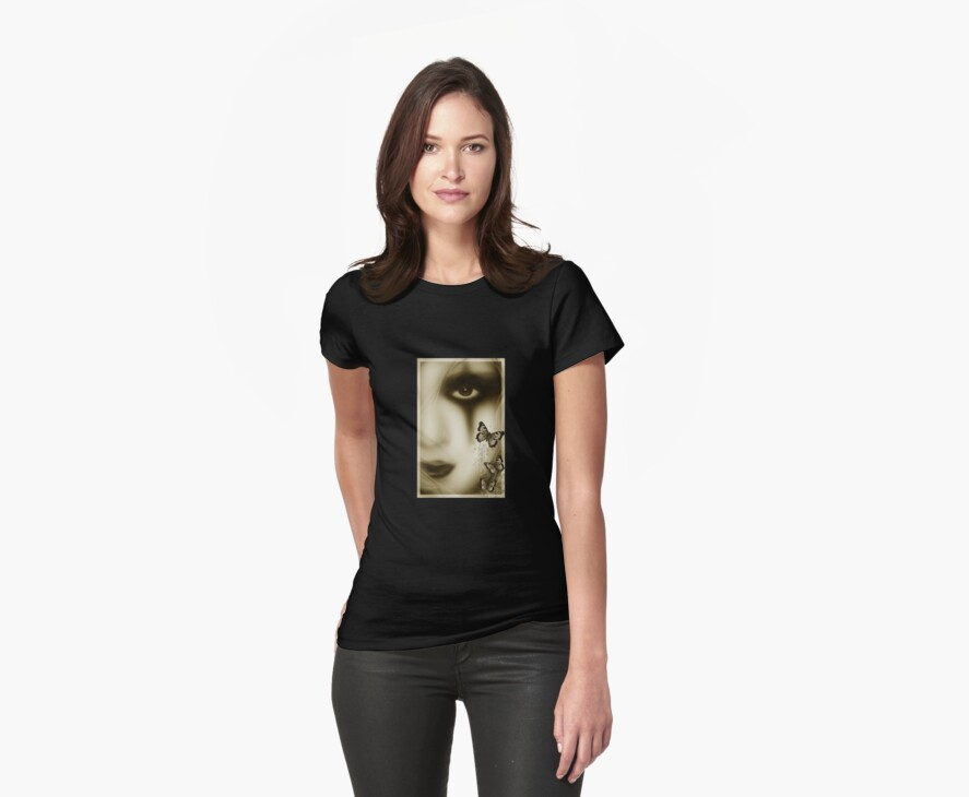 gothic girl tee by dimarie