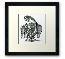 The Giant Imperius Scorpion Framed Print