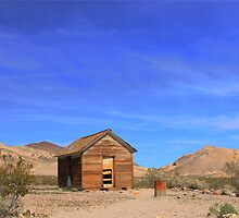 Old shack in ghost town by socalgirl