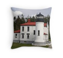 Admiralty Head Lighthouses Throw Pillow