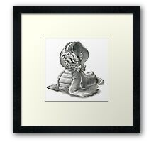 The Freshwater Snapjaw Waligator Framed Print