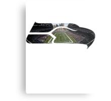 Seattle Seahawks CenturyLink Field Color Metal Print