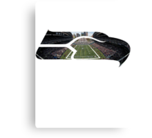 Seattle Seahawks CenturyLink Field Color Canvas Print