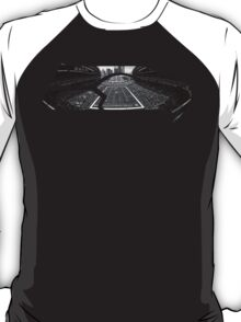 Seattle Seahawks CenturyLink Field Black and White T-Shirt