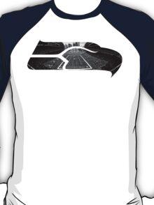 Seattle Seahawks CenturyLink Field Black and White T-Shirt