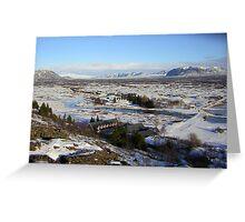 Far Away in Iceland Greeting Card