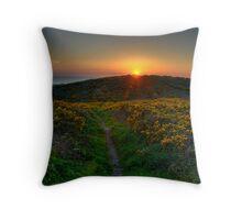Sunset Hill Throw Pillow