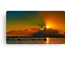 """Daybreak Splendor"" Canvas Print"