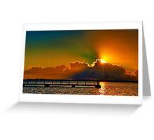 """""""Daybreak Splendor"""" Greeting Card"""