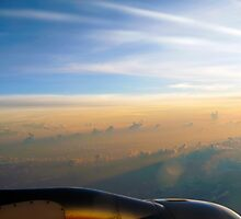 Sunrise at 33,000 Feet by Jenny Zhang