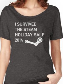 I survived the Steam Holiday Sale 2014 Women's Relaxed Fit T-Shirt