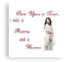 Ounce Upon a Time - Snow White Metal Print