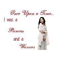 Ounce Upon a Time - Snow White Photographic Print