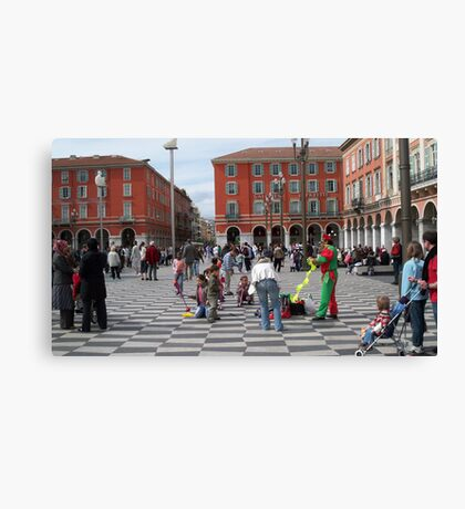 Place Masséna  Canvas Print