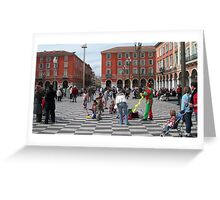 Place Masséna  Greeting Card