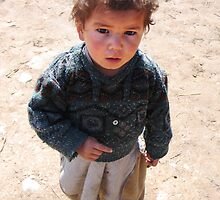 Village child (Afghanistan) by Antanas