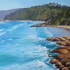Coolum Beach Qld Painting by Chris Hobel