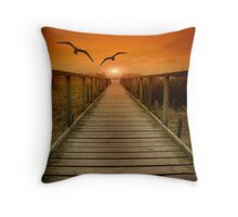 Boardwalk 2 Throw Pillow