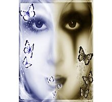 Two sides of the Soul Photographic Print