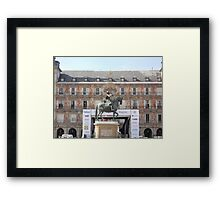 Plaza Major Framed Print