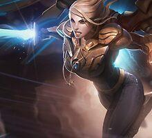 Phone Case  - Legendary Kayle League of Legends by AcademiaLoL