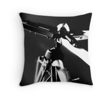 making electricity ... Throw Pillow
