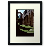 Once the Nave, Fountains Abbey Framed Print