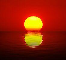 Egg Yolk Sunset by Jenny Zhang