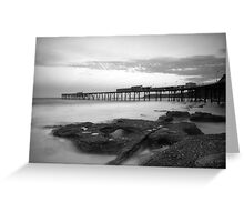 Catherine Hill Bay Clouds Greeting Card