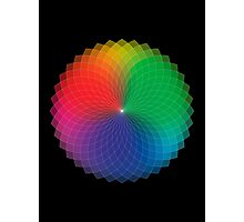 Geometric Design - Color Spectrum Multiply Photographic Print