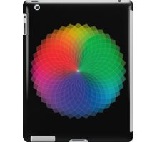 Spirograph - Color Spectrum Multiply iPad Case/Skin